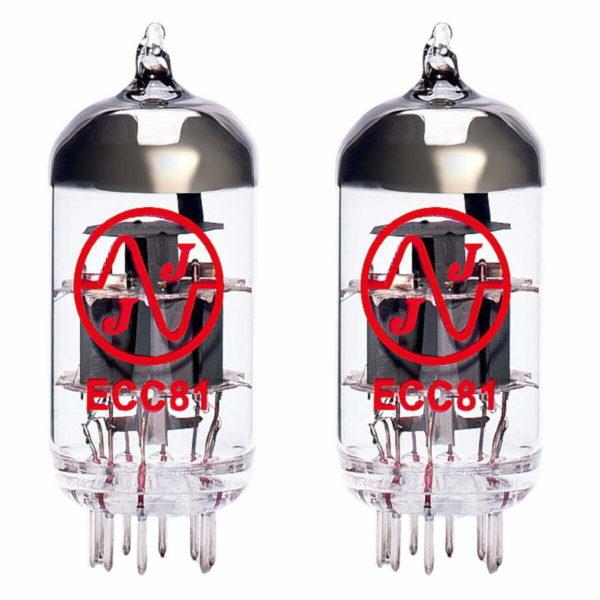 2 x ECC81 (12AT7) Röhren Tube