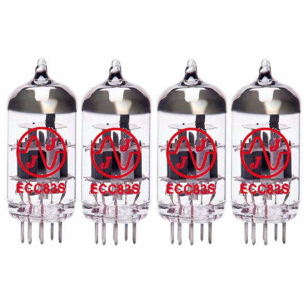 4 x ECC83 (12AX7) Röhren / Tubes JJ Electronics NEU GETESTET