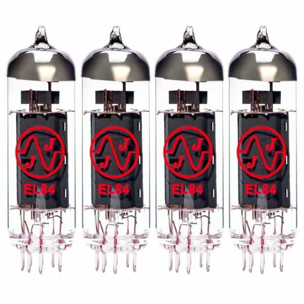 4 x EL84 (6BQ5) Gematchte Quad Macht Röhren JJ Brand