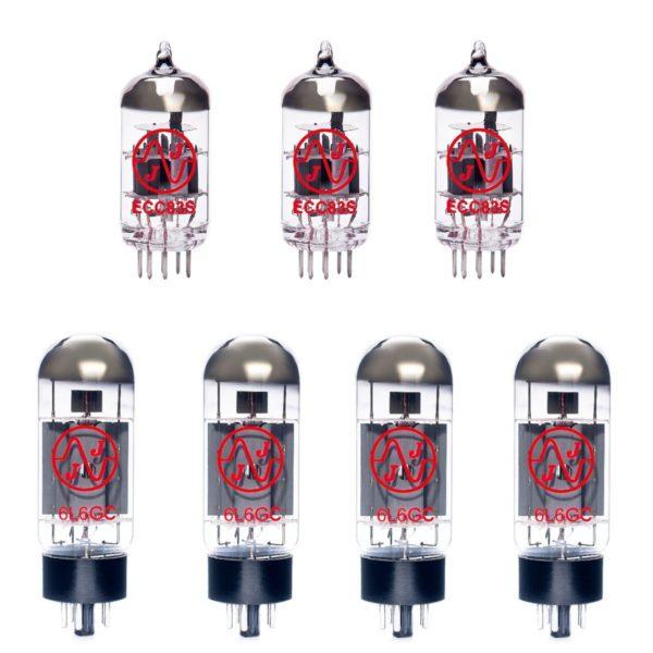 Ampeg B-15R Portaflex Bass Verstärker Röhre Set (2 x 12AX7 1 x Symmetrische 12AX7 4 x Gematchte 6L6GC)