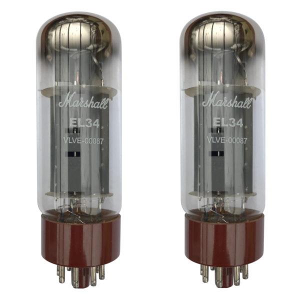 EL34 Röhren (Tubes) - Marshall EL34 Gematchte Pair NEU GETESTET