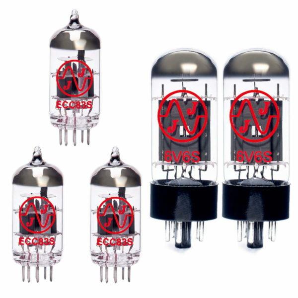 Ersatzröhren-Set für Marshall Haze MHZ15 Verstärker (2 x ECC83 1 x Symmetrische ECC83 2 x Gematchte 6V6S)