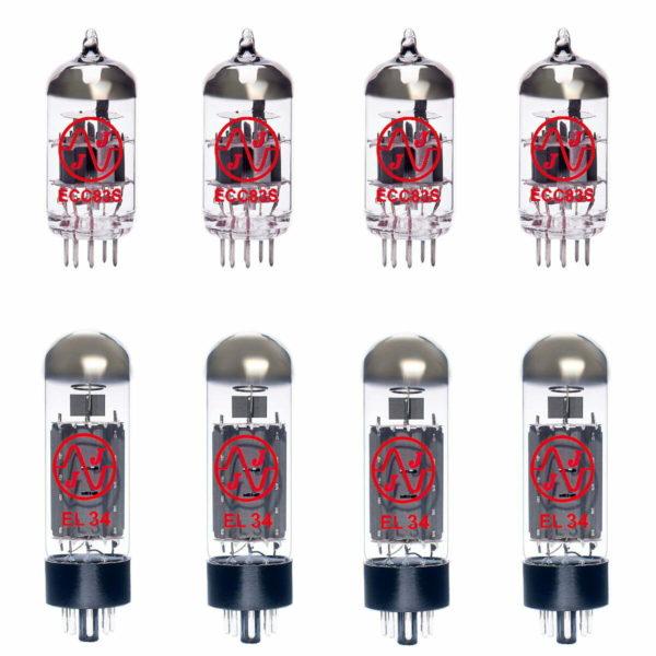 Ersatzröhren-Set für Marshall JCM2000 DSL100 Verstärker (3 x ECC83 1 x Symmetrische ECC83 4 x Gematchte EL34)