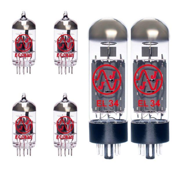 Ersatzröhren-Set für Marshall JCM2000 DSL50 Verstärker (3 x ECC83 1 x ECC83 Symmetrische 2 x Gematchte EL34)