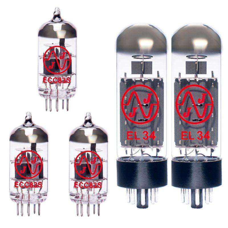 Ersatzröhren-Set für Fender Bassbreaker 45 (2 x ECC83 1 x Symmetrische ECC83 2 x Gematchte EL34)