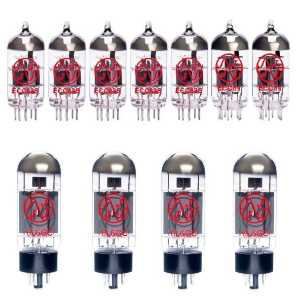 Ersatzröhren-Set für Fender Twin Red Knob (5 x ECC83 1 x ECC81 1 x Symmetrische ECC81 4 x Gematchte 6L6GC)