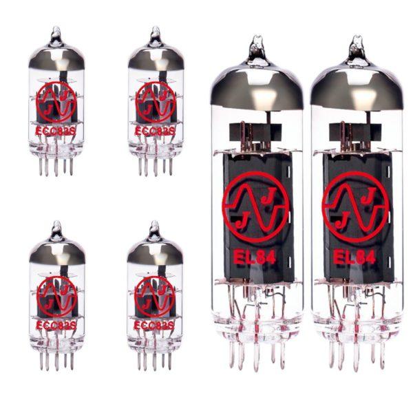 Ersatzröhren-Set für Marshall JCM2000 DSL201 Verstärker (3 x ECC83 1 x Symmetrische ECC83 2 x Gematchte EL84)