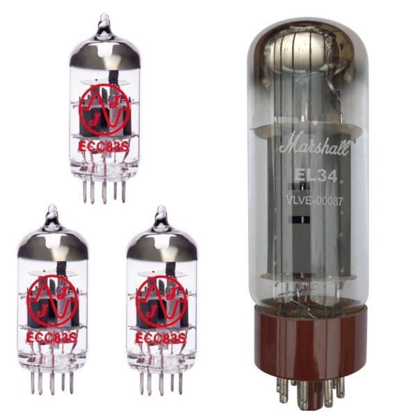 Ersatzröhren-Set für Marshall SL5 Verstärker (2 x JJ ECC83 1 x Symmetrische JJ ECC83 1 x Marshall EL34)