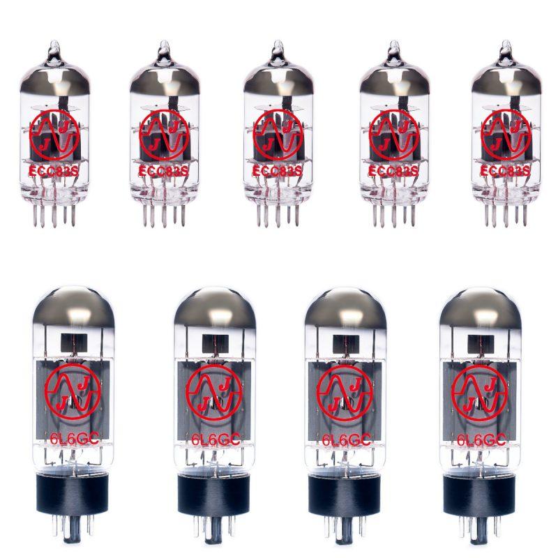 Ersatzröhren-Set für Mesa Boogie Mark IV Verstärker (4 x ECC83 1 x Symmetrische ECC83 4 x Gematchte 6L6GC)