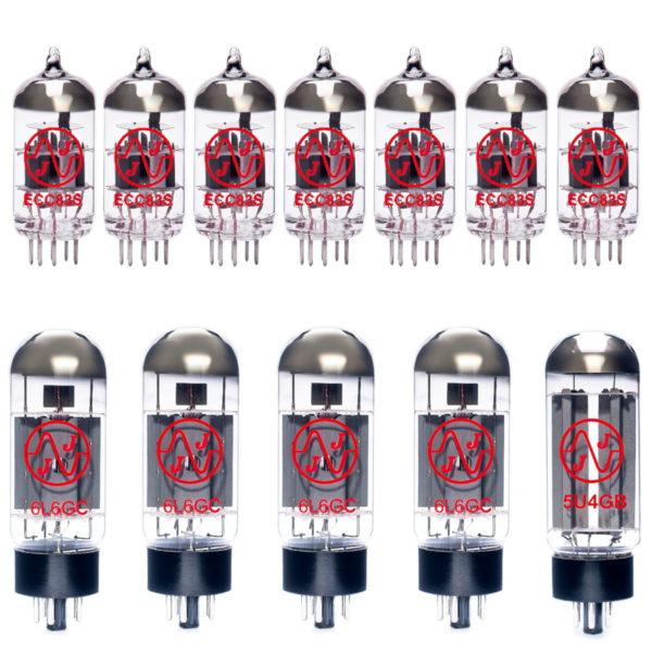 Ersatzröhren-Set für Mesa Boogie Mark V Verstärker (6 x ECC83 1 x Symmetrische ECC83 4 x Gematchte 6L6GC 1 x 5U4GB)