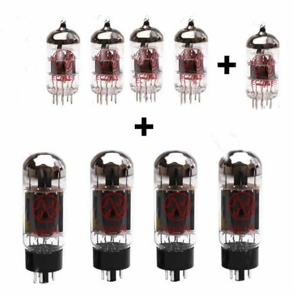Ersatzröhren Set Für Mesa Boogie Mk1 Special Reissue (3 X Ecc83 1 X Symmetrische Ecc83 1 X Ecc81 4 X Gematchte 6l6gc)