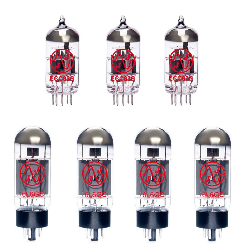 Ersatzröhren-Set für Mesa Boogie simul-class 2:50 Verstärker (2 x ECC83 1 x Symmetrische ECC83 4 x Gematchte 6L6GC)