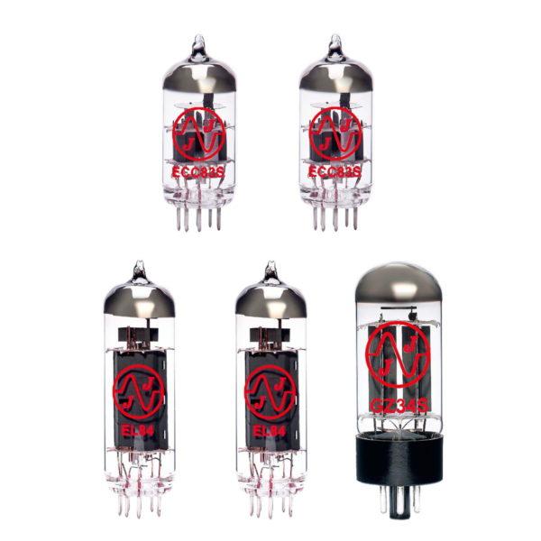 Orange AD15 Verstärker Röhre Set (1 x 12AX7 1 x Symmetrische 12AX7 1 x GZ34 2 x Gematchte EL84)