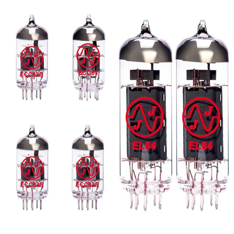 Ersatzröhren-Set für Orange OR15H (2 x ECC83 1 x Symmetrische ECC83 1 x ECC81 2 x Gematchte EL84)