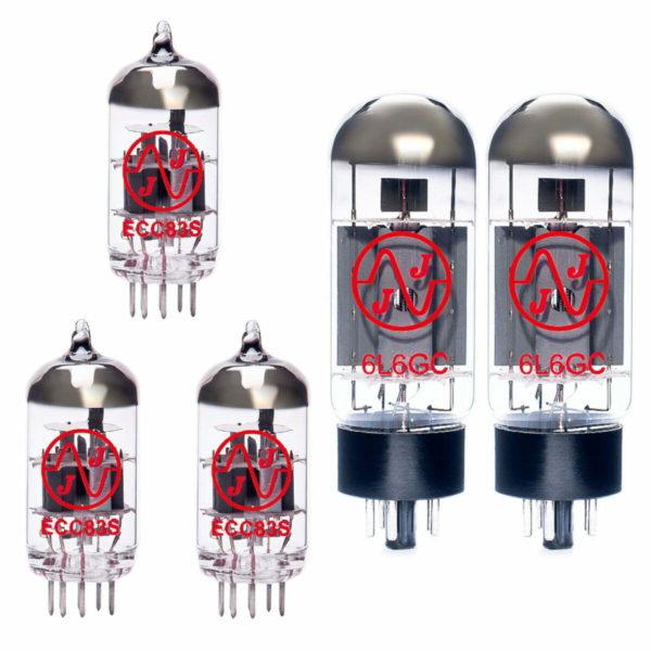 Ersatzröhren-Set für Fender Hot Rod Deville 410 III (2 x ECC83 1 x Symmetrische ECC83 2 x Gematchte 6L6GC)