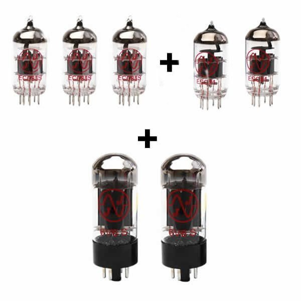 Röhren Für Röhrenverstärker Fender 64 Custom Deluxe Reverb (3 X Ecc83 2 X Ecc81 2 X Gematchte 6v6s)
