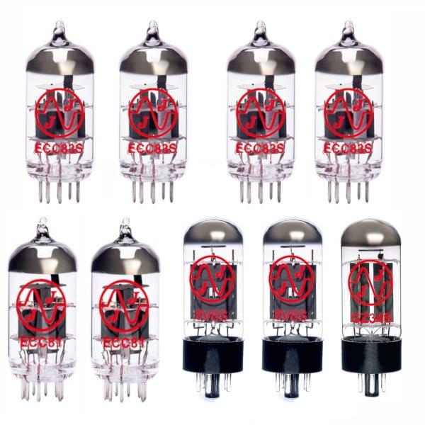 Röhren Für Röhrenverstärker Fender 65 Deluxe Reverb (4 X Ecc83 1 X Ecc81 1 X Symmetrische Ecc81 2 X Gematchte 6l6gc 1 X Gz34)