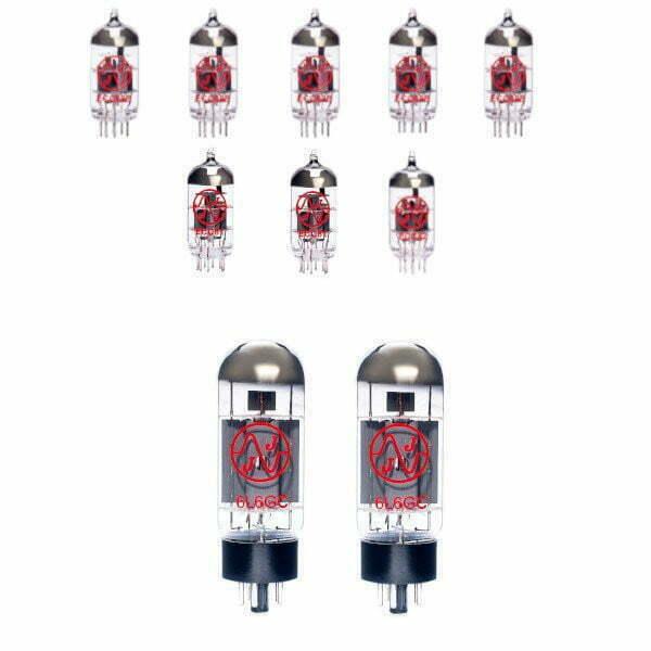 Röhren Set Für Röhrenverstärker Supersonic 60 Combo (6 X Ecc83 1 X Symmetrische Ecc81 1 X Ecc81 2 X Gematchte 6l6 )
