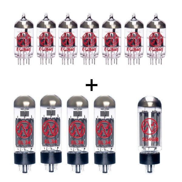 Ersatzröhren Set El34 Für Mesa Boogie Mark V (6 X Ecc83 1 X Symmetrische Ecc83 4 X Gematchte El34 1 X 5ug4b)