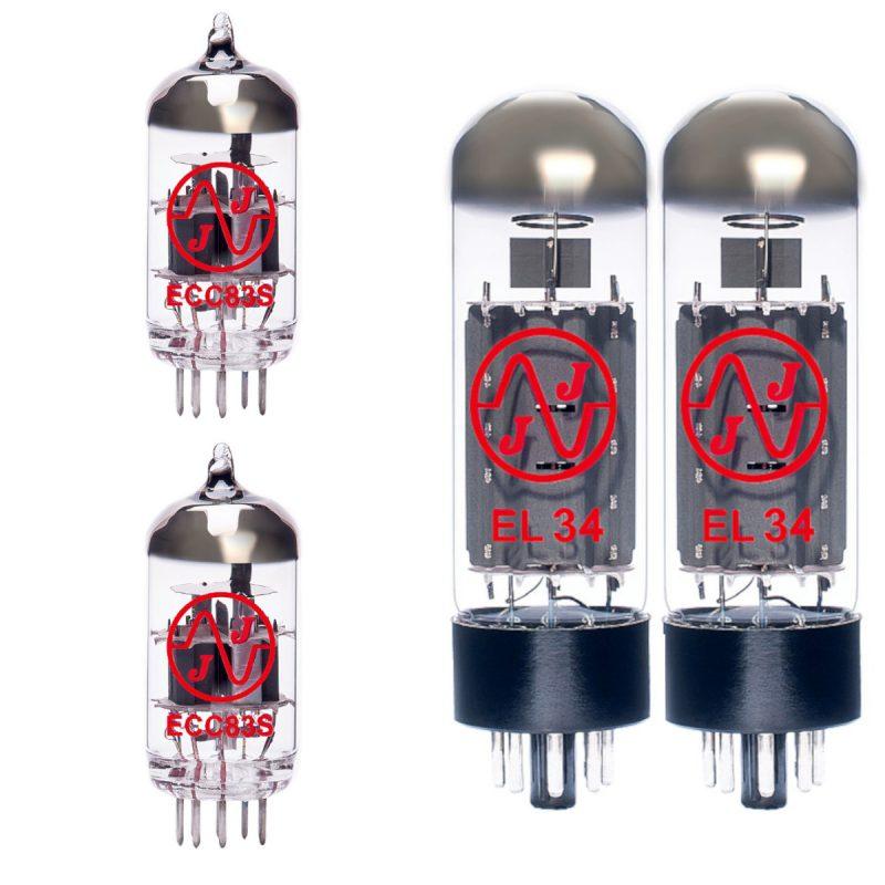 Röhren Set für Röhrenverstärker Hughes and Kettner Statesman Dual EL34 50w