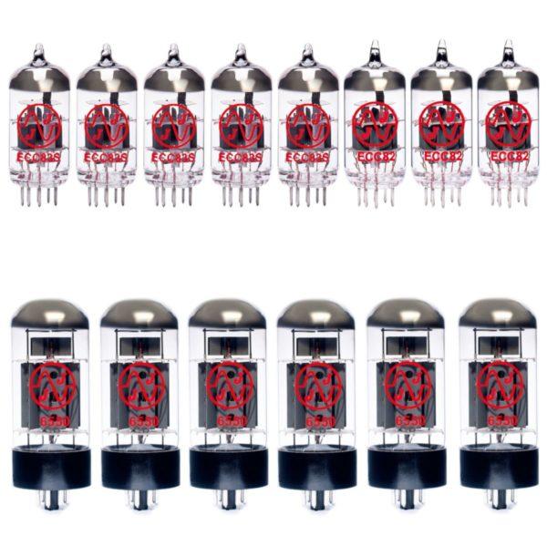 Ampeg SVT-2 Pro Verstärker Röhre Set (4 x 12AX7 1 x Symmetrische 12AX7 3 x Symmetrische 12AU7 6 x Gematchte 6550)