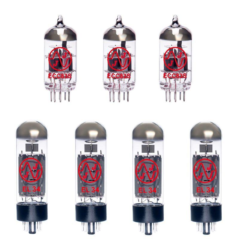 Ersatzröhren-Set für Carvin X 60 - EL34 Ausführung (3 x ECC83 4 x Gematchte EL34)