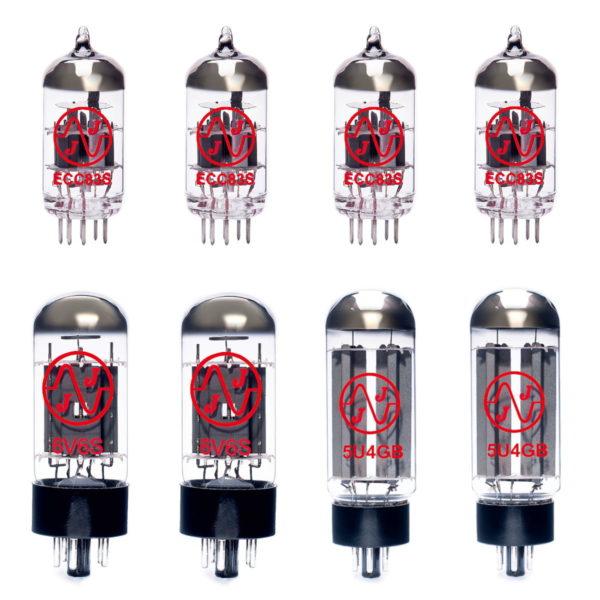 Ersatzröhren-Set für Fender EC Twinolux (3 x ECC83 1 x Symmetrische ECC83 2 x 5U4GB 6 x Gematchte 6V6)