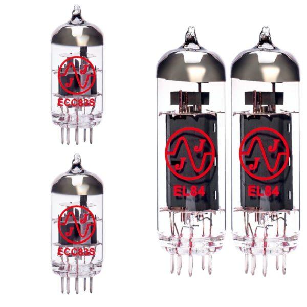 Ersatzröhren-Set für Fender Pro Junior geringe Verstärkung (1 x ECC81 1 x Symmetrische ECC83 2 x Gematchte EL84)