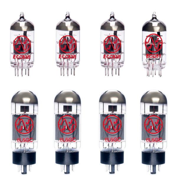 Ersatzröhren-Set für Fender Showman (3 x ECC83 1 x Symmetrische ECC81 4 x Gematchte 6L6GC)
