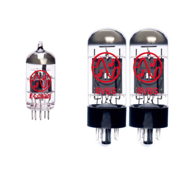 Ersatzröhren-Set für Fender Super Champ X2 (1 x ECC83 2 x Gematchte 6V6S)