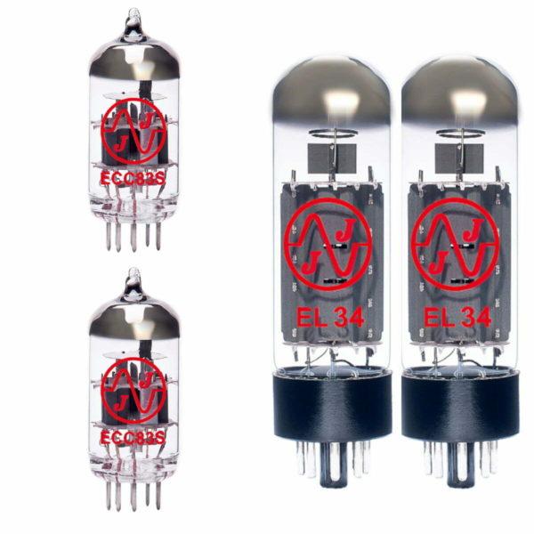 Röhren Set für Röhrenverstärker Bogner Barcelona (1 x ECC83 1 x Symmetrische ECC83 2 x Gematchte EL34)