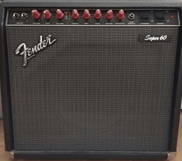 Röhren set für verstärker Fender Super 60