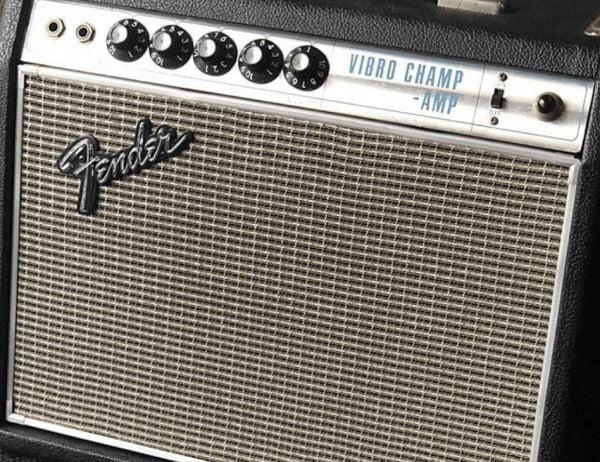 Röhren set für verstärker Fender Vibrochamp