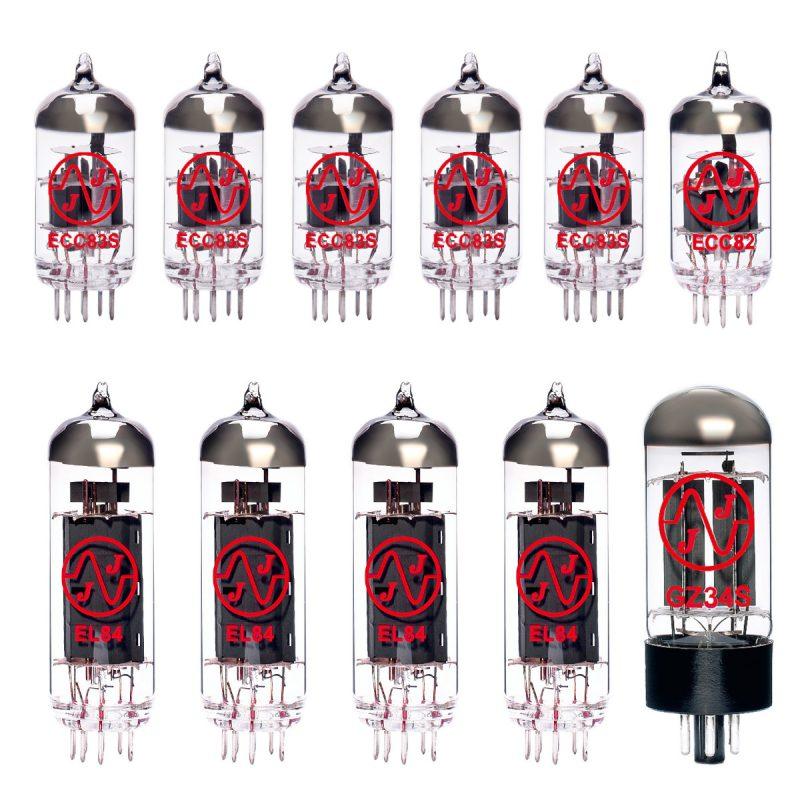 Röhren Set für Röhrenverstärker Vox AC30 6TB Top Boost (5 x ECC83 1 ECC82 1 x GZ34 4 x Gematchte EL84)