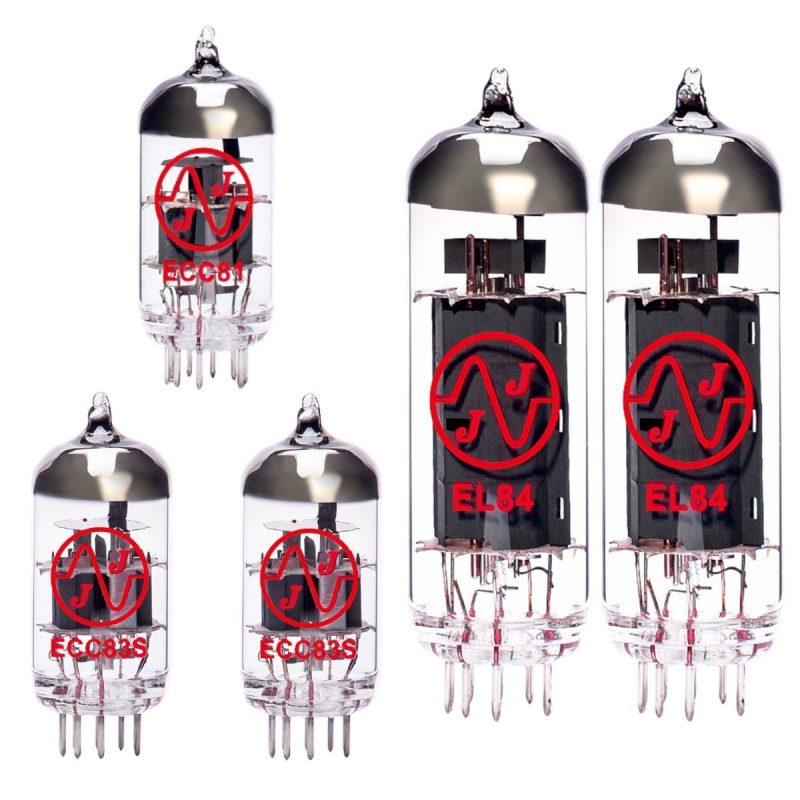 Ersatzröhren-Set für Vox V15 Verstärker (1 x ECC83 1 x Symmetrische ECC83 1 x ECC81 2 x Gematchte EL84)