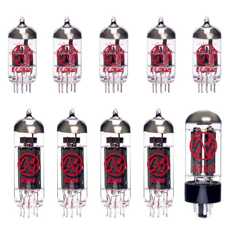 Ersatzröhren-Set für Mesa Lone Star Special Verstärker (4 x ECC83 1 x Symmetrische ECC83 1 x 5Y3S 4 x Gematchte EL84 6/Green)