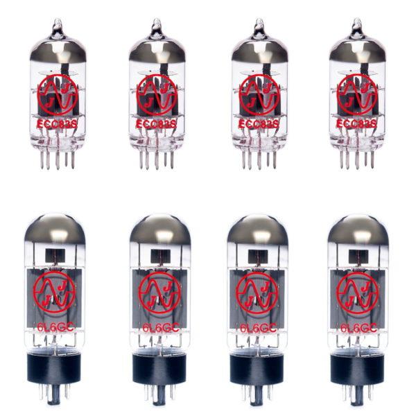 Ersatzröhren-Set für ENGL Retro Tube 100 E675 Verstärker (3 x ECC83 1 x Symmetrische ECC83 4 x Gematchte EL34)