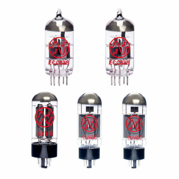 Röhren Set für Röhrenverstärker Flynn 5E3 (2 x ECC83 1 x 5Y3S 2 x Gematchte 6V6)