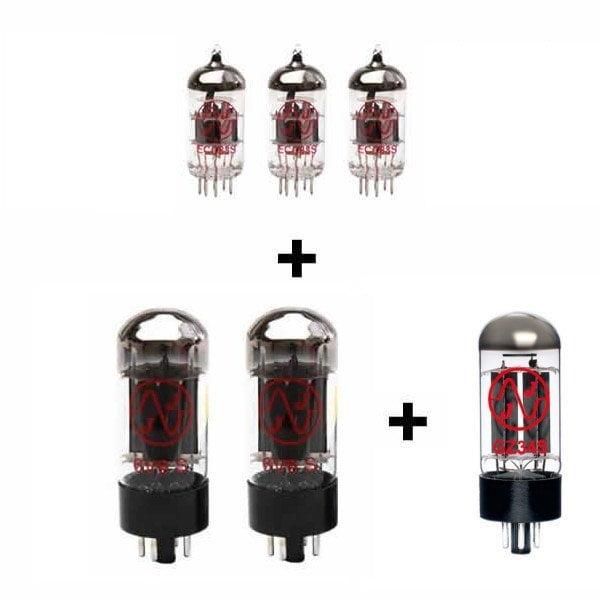 Röhren Set für Röhrenverstärker Swart Atomic Space Tone (3 x ECC83 2 x Gematchte 6V6S 1 x GZ34)
