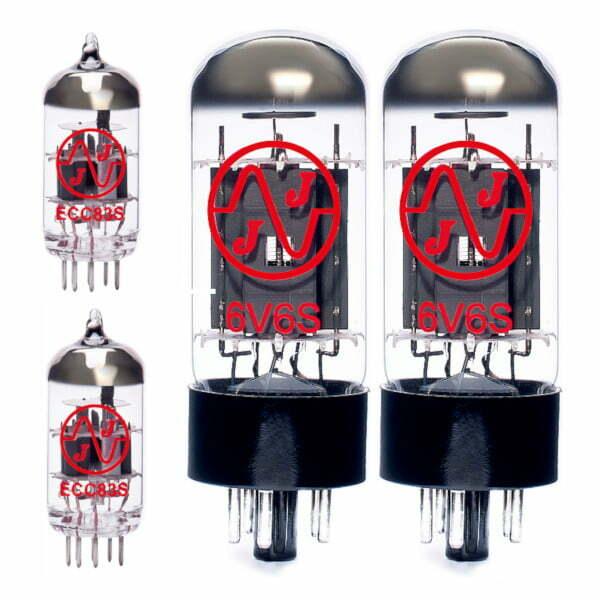 Röhren Set Für Röhrenverstärker Bogner New Yorker (2 X Ecc83 2 X Gematchte 6v6s)