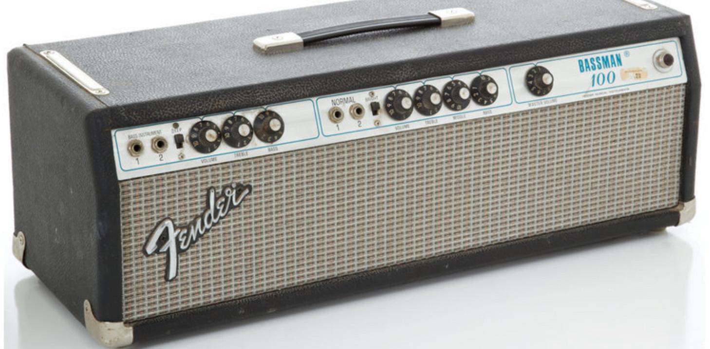 Röhren für Ihren Fender Bassman 100