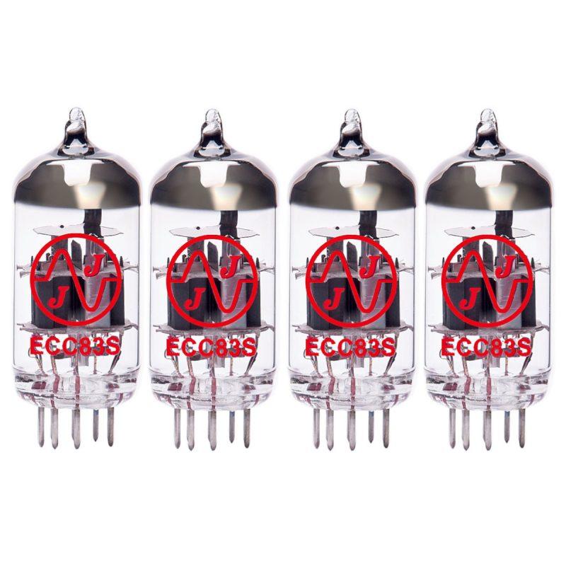 Ersatzröhren-Set für ENGL Ventilvorverstärker E570 (3 x ECC83 1 x Symmetrische ECC83)
