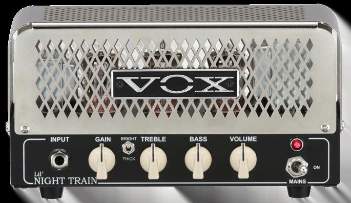 Röhren set für verstärker Vox Lil Night Train