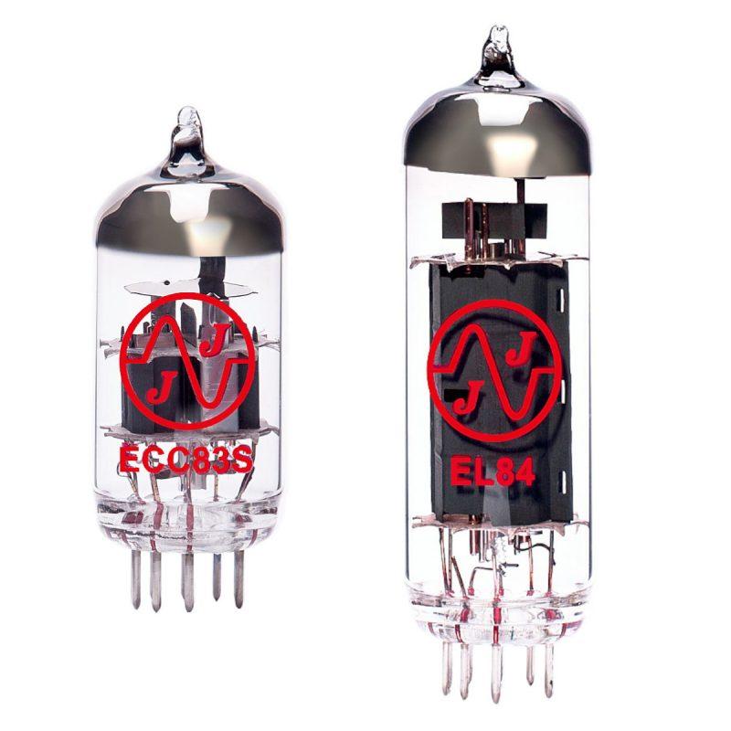 Röhren Set für Röhrenverstärker Blackheart Little Giant BH5H (1 x ECC83 1 x EL84)