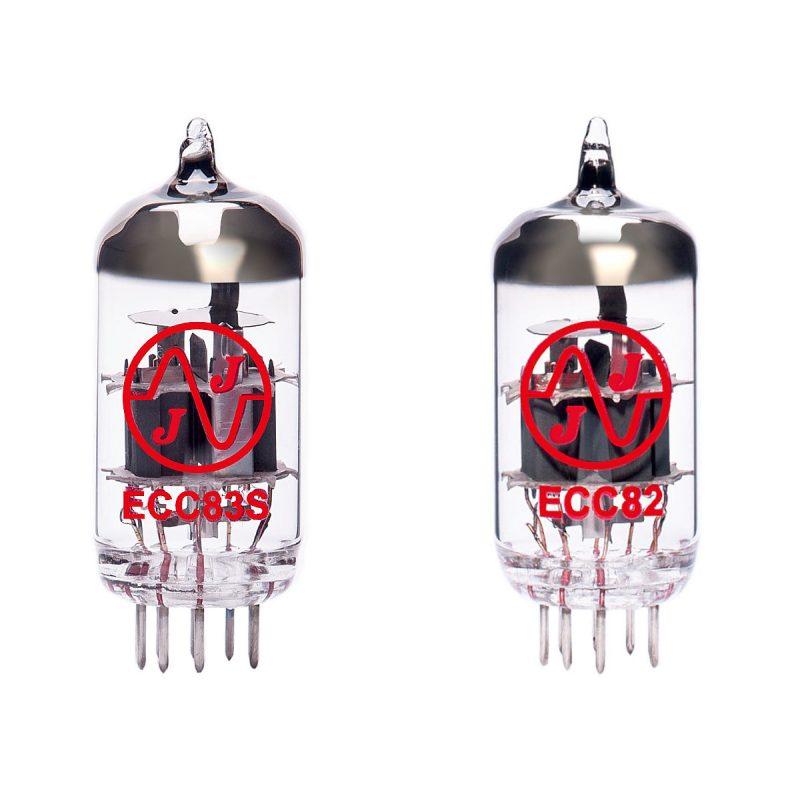 Röhren Set für Röhrenverstärker Hayden Lil Mofo (1 x ECC83 1 x ECC82)