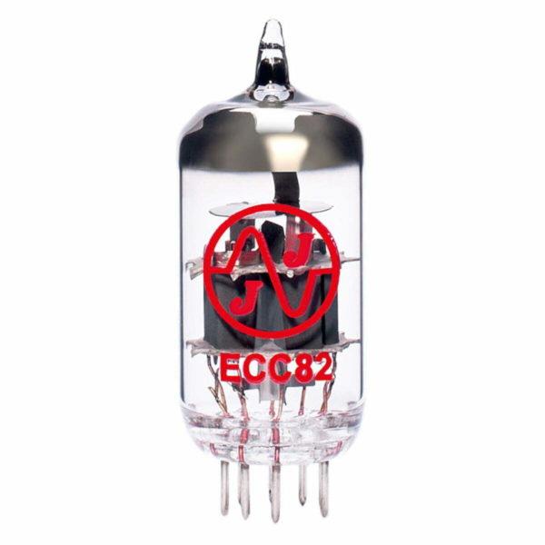1 x Symmetrische ECC82 (12AU7) Röhren / Tubes JJ Electronics NEU GETESTET