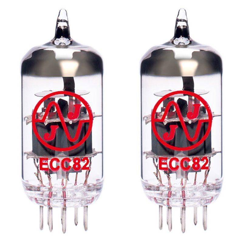 2 x ECC82 (12AU7) Röhren / Tubes JJ Electronics NEU GETESTET
