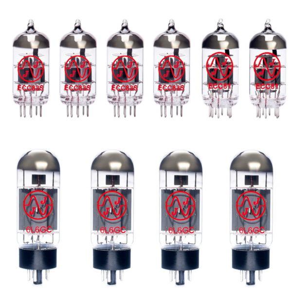 Ersatzröhren-Set für Fender Dual Showman Reverb Verstärker (4 x ECC83 1 x ECC81 1 x Symmetrische ECC81 4 x Gematchte 6L6GC)