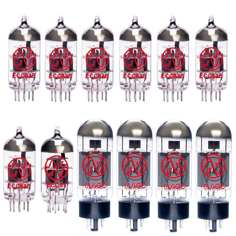 Ersatzröhren-Set für Fender Twin Pro Tube (6 x ECC83 1 x Symmetrische ECC83 1 x ECC81 4 x Gematchte 6L6GC)