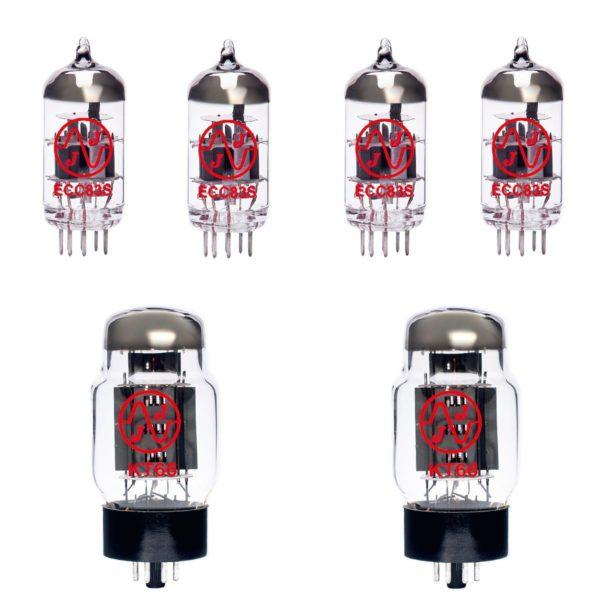 Ersatzröhren-Set für Marshall Vintage Modern 2266C Verstärker (3 x ECC83 1 x Symmetrische ECC83 2 x Gematchte KT66)